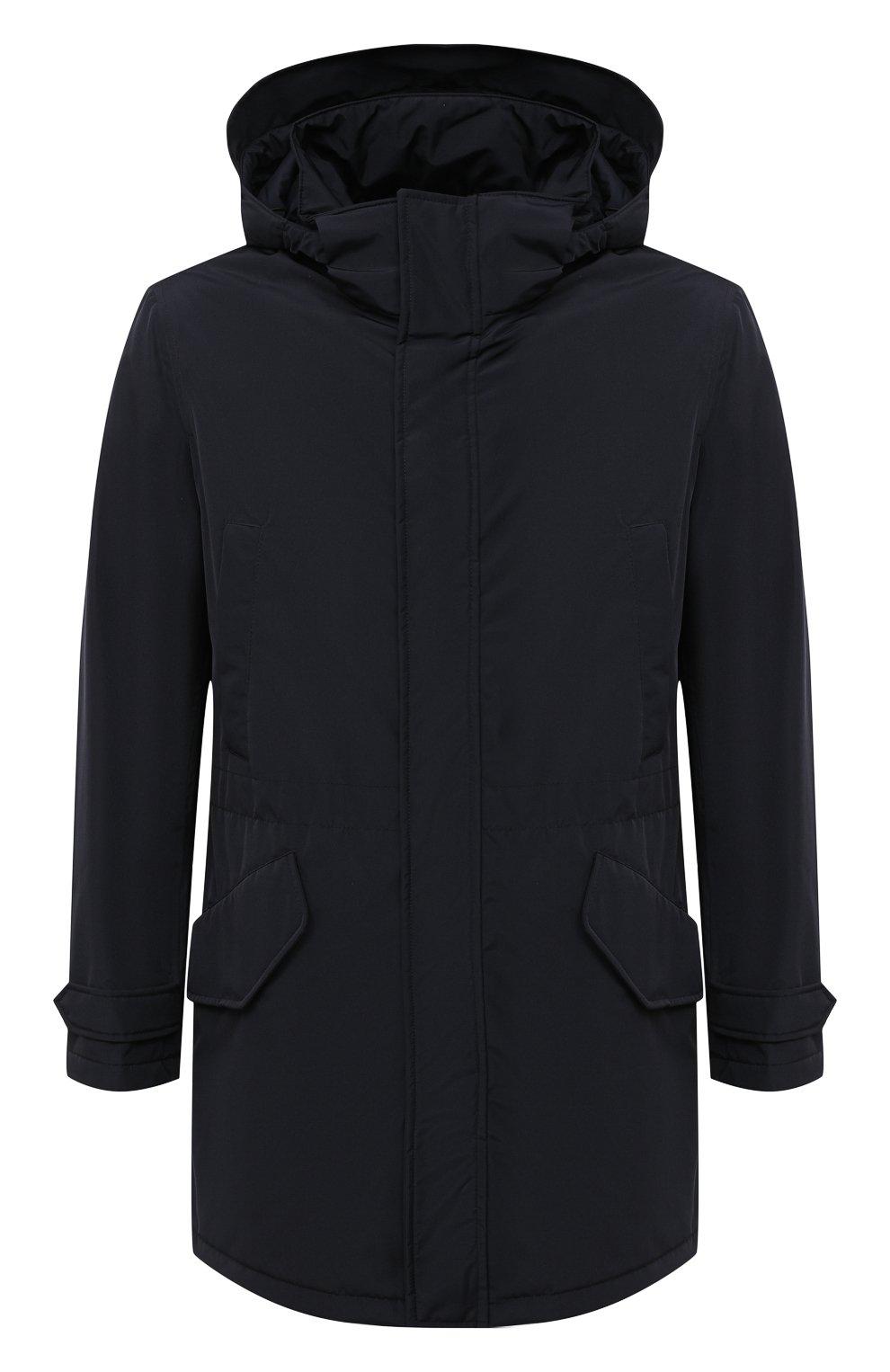 Мужская утепленная парка ASPESI темно-синего цвета, арт. W0 I 9I12 7981 | Фото 1 (Кросс-КТ: Куртка, Пуховик; Мужское Кросс-КТ: пуховик-короткий, Пуховик-верхняя одежда, Верхняя одежда; Рукава: Длинные; Материал внешний: Синтетический материал; Материал подклада: Синтетический материал)