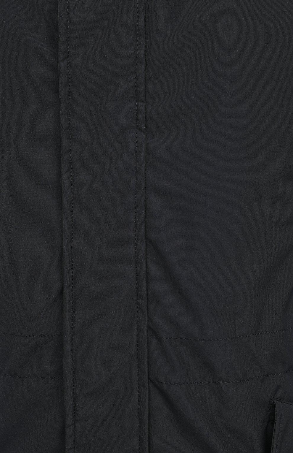 Мужская утепленная парка ASPESI темно-синего цвета, арт. W0 I 9I12 7981 | Фото 5 (Кросс-КТ: Куртка, Пуховик; Мужское Кросс-КТ: пуховик-короткий, Пуховик-верхняя одежда, Верхняя одежда; Рукава: Длинные; Материал внешний: Синтетический материал; Материал подклада: Синтетический материал)