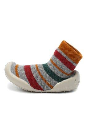 Детского домашние туфли COLLEGIEN разноцветного цвета, арт. 551A/18-35 | Фото 2