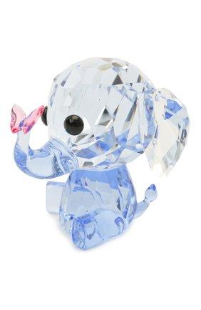 Мужского скульптура elephant SWAROVSKI голубого цвета, арт. 5506808   Фото 1