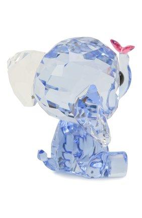 Мужского скульптура elephant SWAROVSKI голубого цвета, арт. 5506808   Фото 2