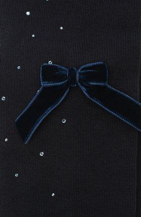 Детские хлопковые колготки LA PERLA синего цвета, арт. 47811/7-8 | Фото 2