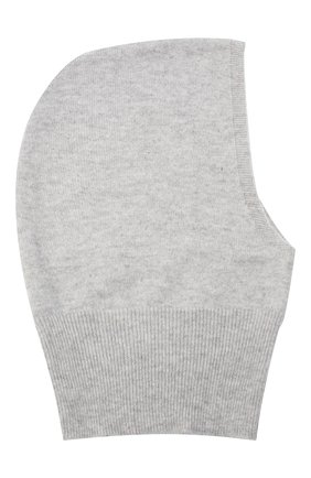 Детского кашемировая шапка-балаклава GIORGETTI CASHMERE светло-серого цвета, арт. MB1691/8A   Фото 1