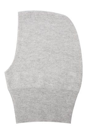 Детского кашемировая шапка-балаклава GIORGETTI CASHMERE светло-серого цвета, арт. MB1691/8A   Фото 2