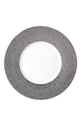 Мужского тарелка салатная ecume silver BERNARDAUD серебряного цвета, арт. 0738/20250 | Фото 1