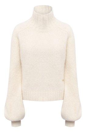 Женский шерстяной свитер JW ANDERSON кремвого цвета, арт. KW0387 YN0066 | Фото 1