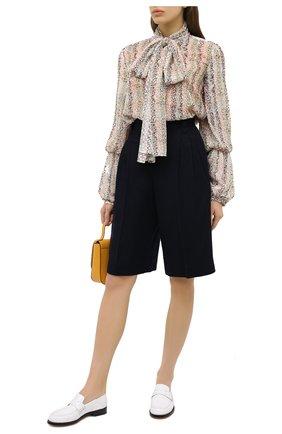Женская шелковая блузка J.W. ANDERSON разноцветного цвета, арт. TP0115 PG0398   Фото 2