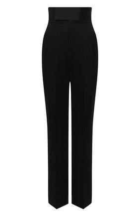 Женские шерстяные брюки J.W. ANDERSON черного цвета, арт. TR0092 PG0011   Фото 1