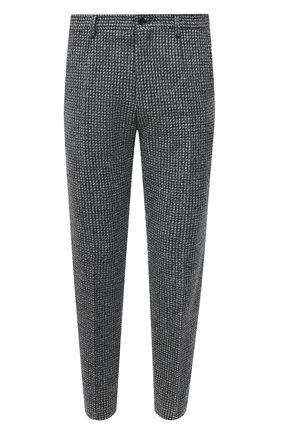 Мужские шерстяные брюки DOLCE & GABBANA серого цвета, арт. GY6IET/FMMFZ | Фото 1