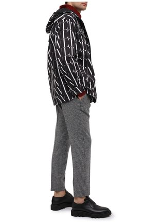 Мужские шерстяные брюки DOLCE & GABBANA серого цвета, арт. GY6IET/FMMFZ | Фото 2