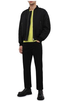 Мужские кожаные челси lug BOTTEGA VENETA черного цвета, арт. 634403/VBS50 | Фото 2 (Материал внутренний: Натуральная кожа; Подошва: Массивная; Каблук высота: Высокий; Мужское Кросс-КТ: Челси-обувь, Сапоги-обувь)