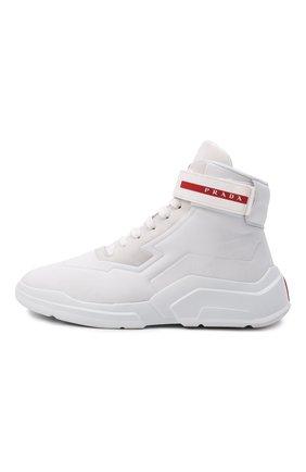 Женские кроссовки PRADA белого цвета, арт. 3T6443-HEC-F0009-010 | Фото 2