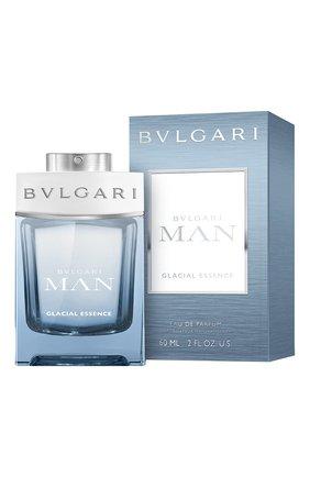 Мужской парфюмерная вода bulgari man glacial essence BVLGARI бесцветного цвета, арт. 41195BVL | Фото 2