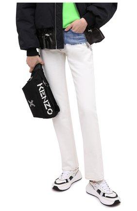 Женская поясная сумка kenzo sport active KENZO черного цвета, арт. FA65SA221F21 | Фото 2