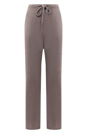Женские кашемировые брюки EXTREME CASHMERE коричневого цвета, арт. 142/RUN | Фото 1