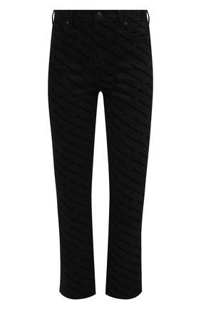 Женские джинсы DENIM X ALEXANDER WANG черного цвета, арт. 4DC2204794   Фото 1