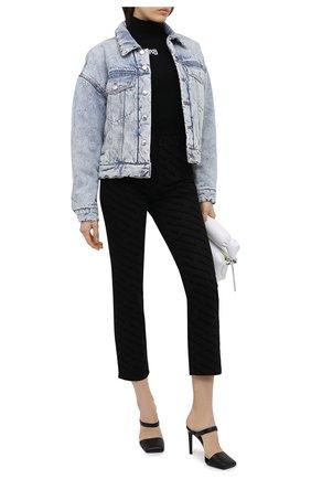 Женские джинсы DENIM X ALEXANDER WANG черного цвета, арт. 4DC2204794   Фото 2