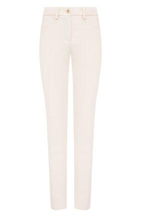 Женские брюки из шерсти и вискозы MARNI белого цвета, арт. PAMA0178U0/TW895 | Фото 1