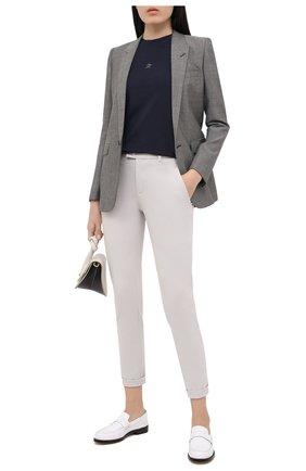 Женские брюки LORENA ANTONIAZZI кремвого цвета, арт. A2042PA052/3254 | Фото 2