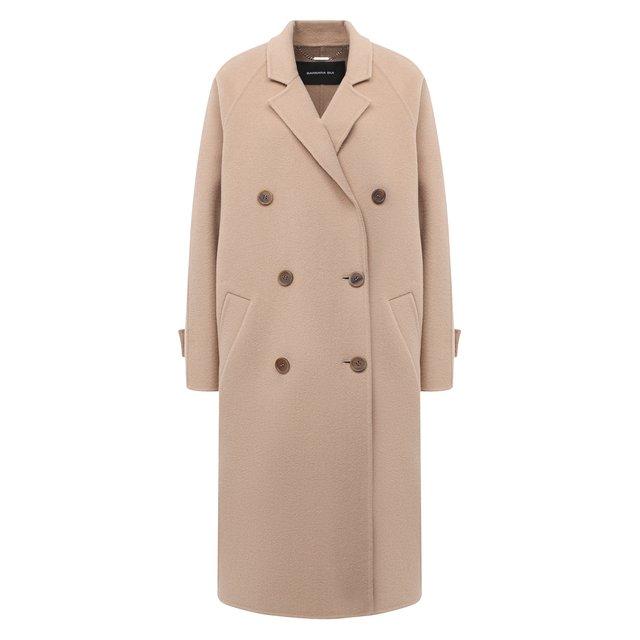 Пальто из шерсти и кашемира Barbara Bui
