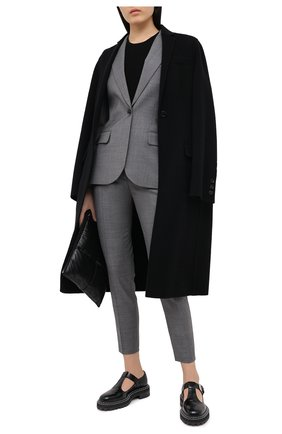 Женский шерстяной жакет BARBARA BUI серого цвета, арт. W1220WAI   Фото 2
