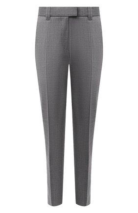 Женские шерстяные брюки BARBARA BUI серого цвета, арт. W1611WAI | Фото 1