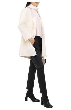 Женское пальто из шерсти и кашемира LORENA ANTONIAZZI кремвого цвета, арт. A2006CP024/3319 | Фото 2
