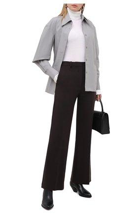 Женские брюки KENZO темно-коричневого цвета, арт. FA62PA0269CD | Фото 2