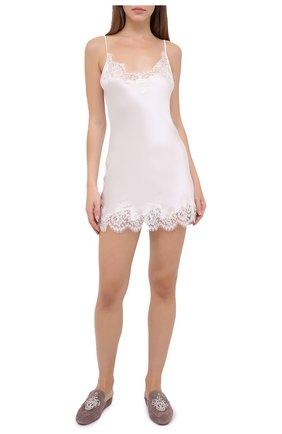 Женская сорочка I.D. SARRIERI белого цвета, арт. L3020 | Фото 2