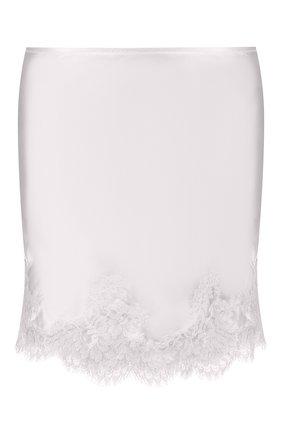 Женская юбка I.D. SARRIERI белого цвета, арт. L3000 | Фото 1