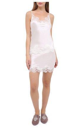 Женская юбка I.D. SARRIERI белого цвета, арт. L3000 | Фото 2