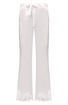 Женские брюки I.D. SARRIERI белого цвета, арт. L3070 | Фото 1