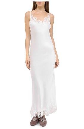 Женская сорочка I.D. SARRIERI белого цвета, арт. L3080 | Фото 2