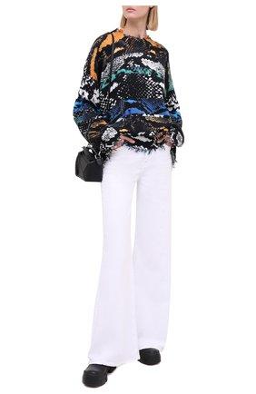 Женский хлопковый свитер R13 разноцветного цвета, арт. R13W7748-35   Фото 2