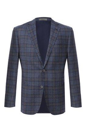 Мужской шерстяной пиджак CORNELIANI синего цвета, арт. 866Y70-0816372/90 Z   Фото 1