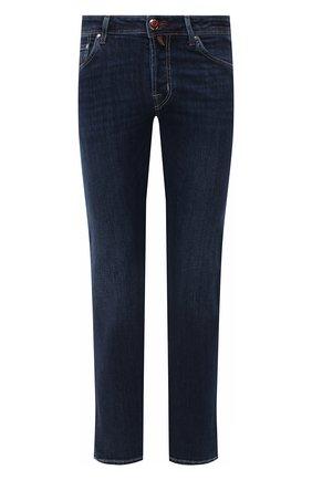 Мужские джинсы JACOB COHEN синего цвета, арт. J620 C0MF 00709-W2/54 | Фото 1
