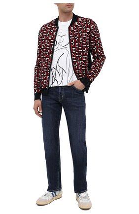 Мужские джинсы JACOB COHEN синего цвета, арт. J620 C0MF 00709-W2/54 | Фото 2