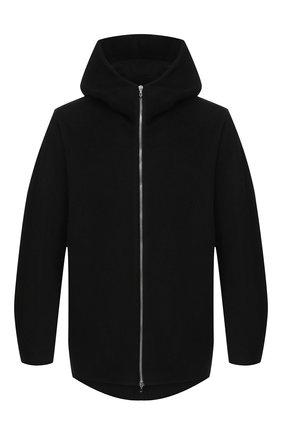 Мужская куртка из шерсти и кашемира KAZUYUKI KUMAGAI черного цвета, арт. AC03-223   Фото 1