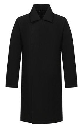 Мужская пуховое пальто KAZUYUKI KUMAGAI черного цвета, арт. AC03-245   Фото 1