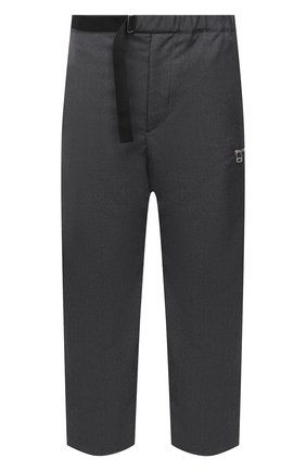 Мужские шерстяные брюки OAMC темно-серого цвета, арт. 0AMR311133 0R200100 | Фото 1 (Материал внешний: Шерсть; Материал подклада: Купро; Случай: Повседневный)
