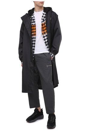 Мужские шерстяные брюки OAMC темно-серого цвета, арт. 0AMR311133 0R200100   Фото 2
