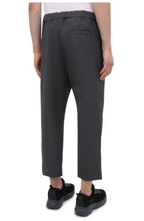 Мужские шерстяные брюки OAMC темно-серого цвета, арт. 0AMR311133 0R200100   Фото 4