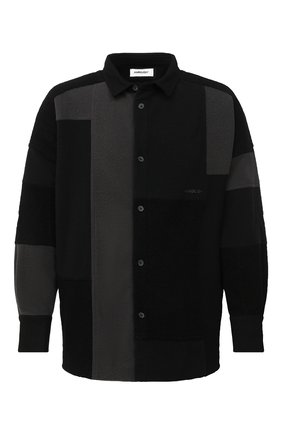 Мужская рубашка AMBUSH темно-серого цвета, арт. BMGA007F20FAB001 | Фото 1