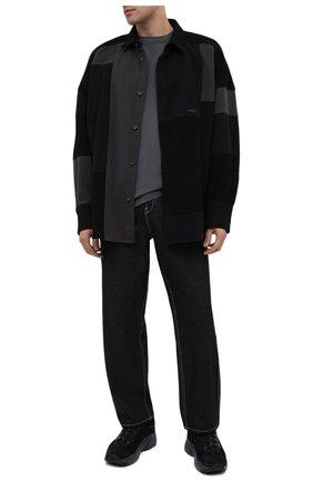 Мужская рубашка AMBUSH темно-серого цвета, арт. BMGA007F20FAB001 | Фото 2