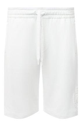 Мужские хлопковые шорты DOLCE & GABBANA белого цвета, арт. GWL3AZ/G7WTE | Фото 1
