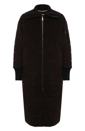 Мужская утепленное пальто DOLCE & GABBANA коричневого цвета, арт. G9TV5T/FRVBA | Фото 1