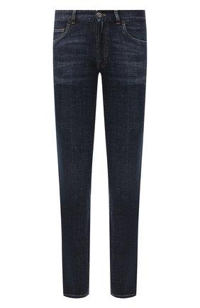 Мужские джинсы BRIONI темно-синего цвета, арт. SPLU0L/P9D38/MERIBEL | Фото 1