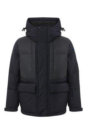 Мужская пуховая куртка KNT темно-синего цвета, арт. UGKN003X03T33 | Фото 1 (Рукава: Длинные; Материал подклада: Синтетический материал; Длина (верхняя одежда): Короткие; Материал внешний: Синтетический материал; Мужское Кросс-КТ: Верхняя одежда, Пуховик-верхняя одежда, пуховик-короткий; Стили: Кэжуэл; Кросс-КТ: Пуховик, Куртка)