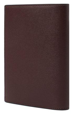 Мужской кожаная обложка для паспорта TOM FORD бордового цвета, арт. Y0274T-LCL053 | Фото 2
