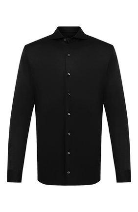Мужская хлопковая рубашка VAN LAACK черного цвета, арт. M-PER-LSF/180031 | Фото 1